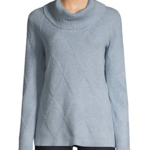 Calvin Klein Turtleneck Cotton Knit Sweate…